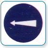 Compulsory turn left Right if symbol is reversed